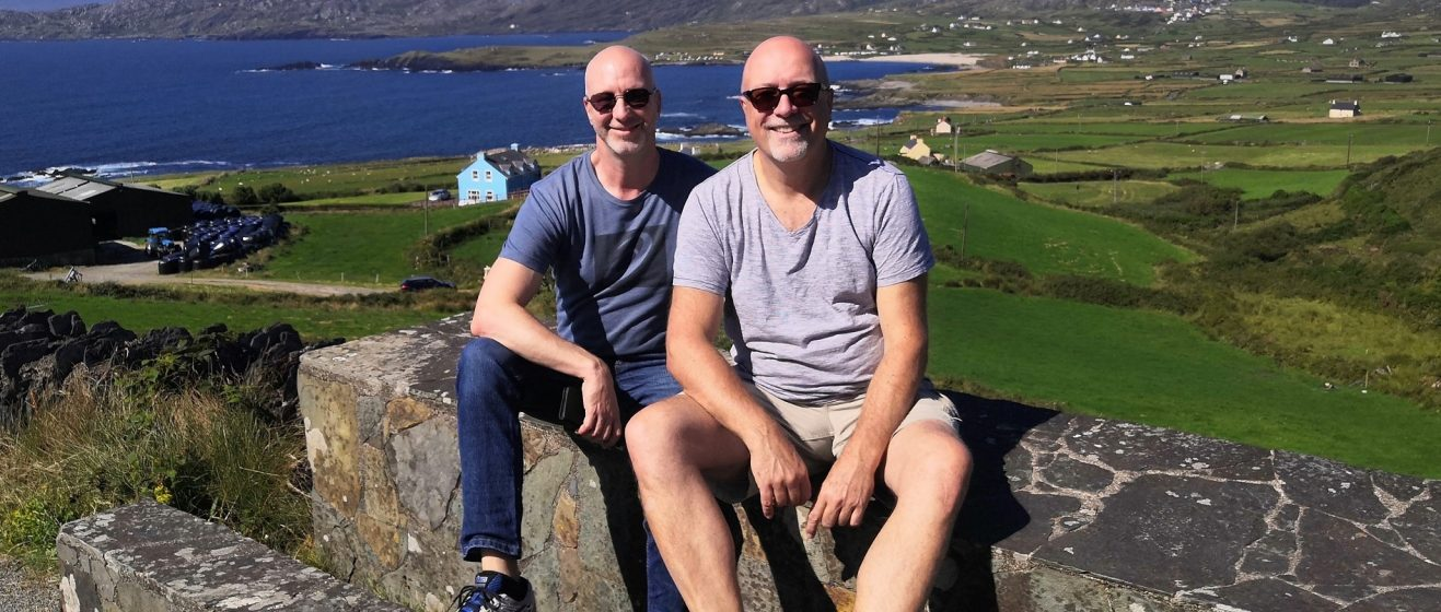 Jens and Barry of Valhalla BnB