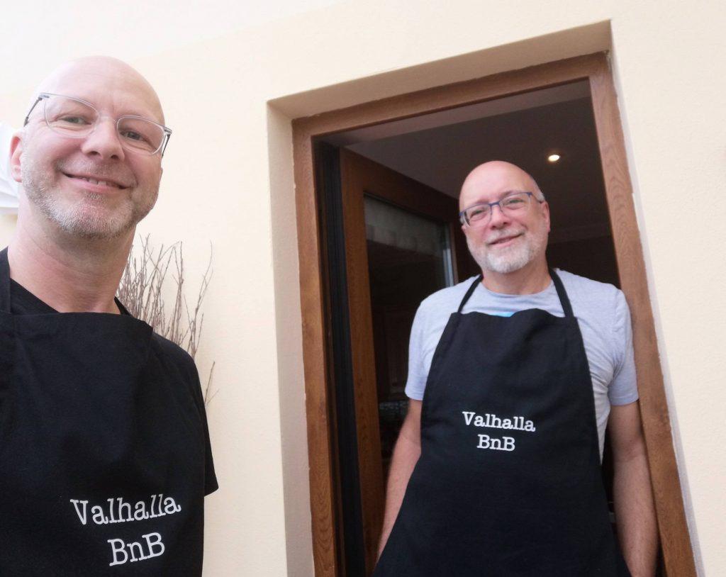 Barry et Jens au Valhalla