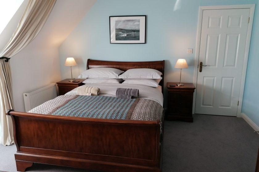 Valhalla BnB Seaview Schlafzimmer